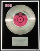 "SANDIE SHAW  -  7"" Platinum Disc - LONG LIVE LOVE"